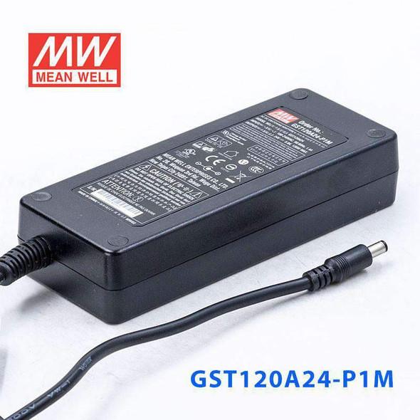 Mean Well GST120A24-P1M AC-DC Single Output Desktop