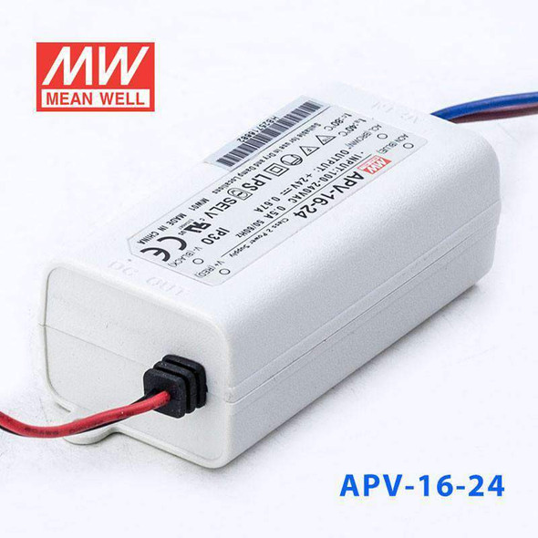 Mean Well S-APV-16-24 Power Supply 16W 24V with AU/NZ plug