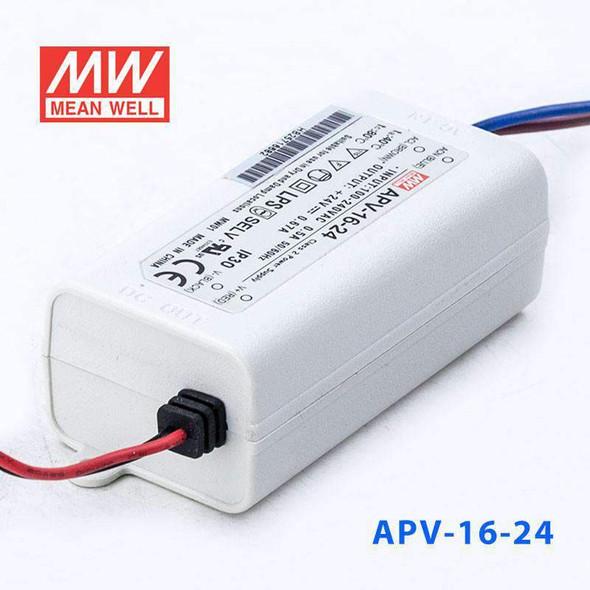 Mean Well S-APV-16-24 Power Supply 16W 24V with AU/NZ plug