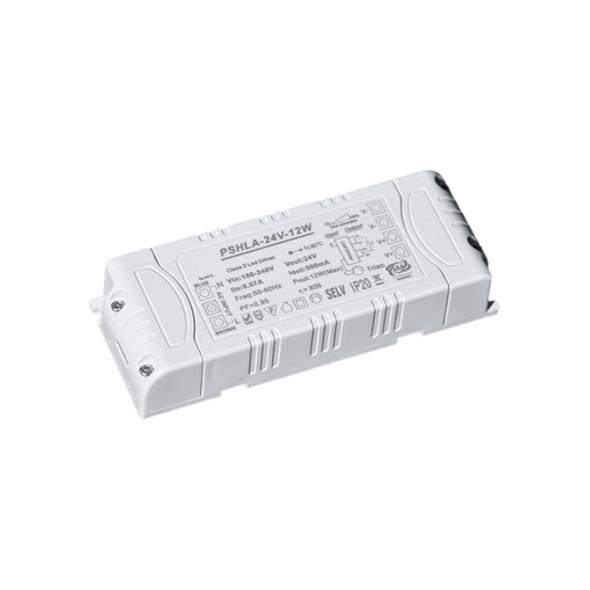 Thinkwise PSHLA-24V-12W Triac Dimmable Power Supply - 12W 24V 0.5A -  Screw Terminal