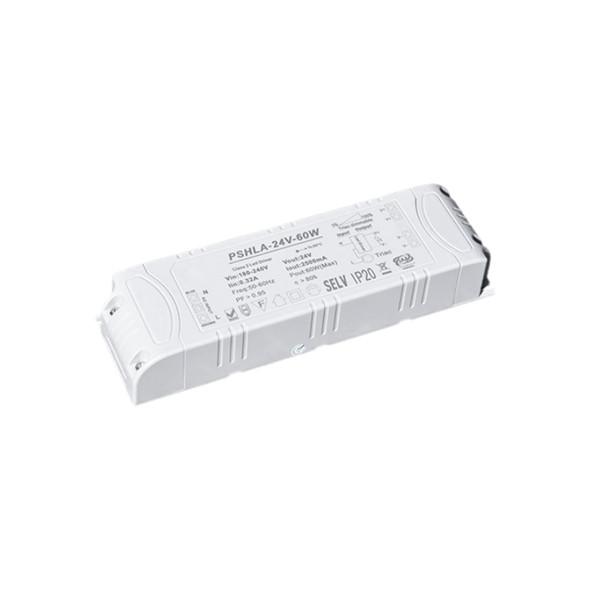 Thinkwise PSHLA-24V-60W Triac Dimmable Power Supply - 60W 24V 2.5A -  Screw Terminal