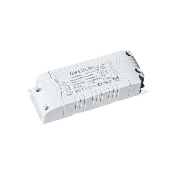 Thinkwise PSHLA-24V-20W Triac Dimmable Power Supply - 20W 24V 0.8A -  Screw Terminal