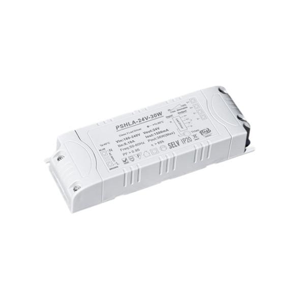 Thinkwise PSHLA-24V-30W Triac Dimmable Power Supply - 30W 24V 1.5A -  Screw Terminal