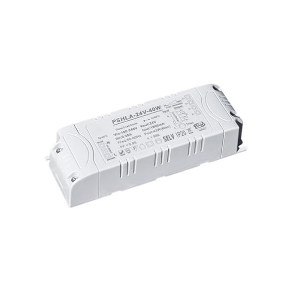 Thinkwise PSHLA-24V-40W Triac Dimmable Power Supply - 40W 24V 1.8A -  Screw Terminal