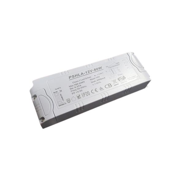 Thinkwise PSHLA-12V-80W Triac Dimmable Power Supply - 80W 12V 6.66A -  Screw Terminal