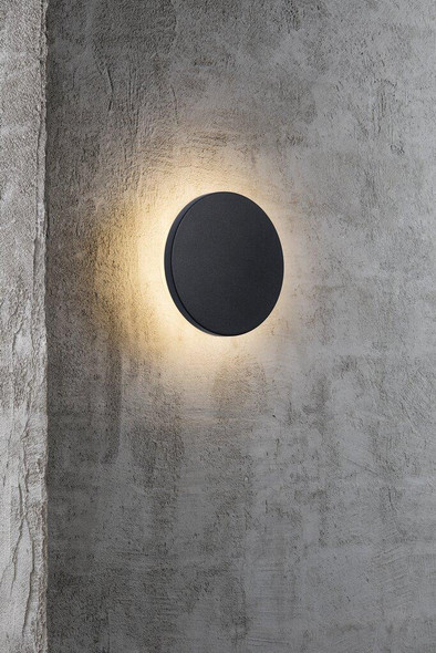 Nordlux Wall Artego Circle Black