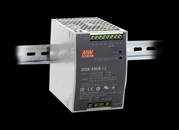 Meanwell DDR-480C-12 DC-DC Converter - 400.8W - 33.6~67.2V in 12V out