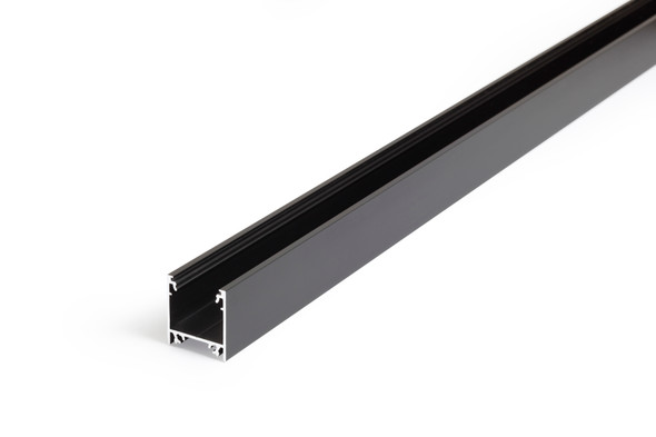 Archilight VRITOS DECORUS Profile Surface / Suspend - 2 Metre - No Diffuser - Black