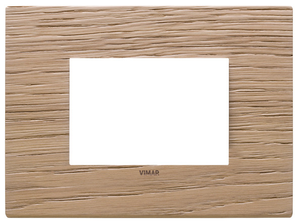 Vimar Eikon Plate 3M Wood Oak