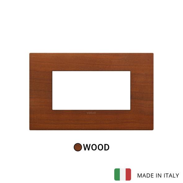 Vimar Arke Classic Plate 4M Cherry Wood