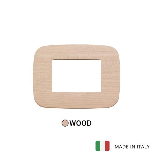 Vimar Arke Round Plate 3M Wood Maple