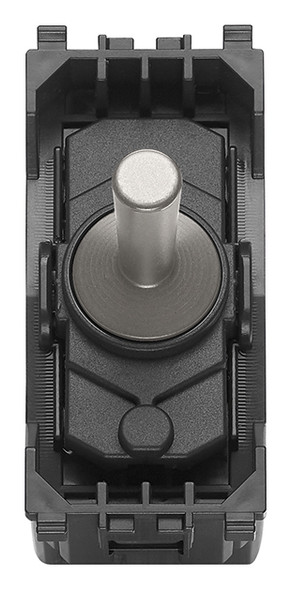 Vimar Eikon 1P 10AX 2-Way Switch Vintage Nickel