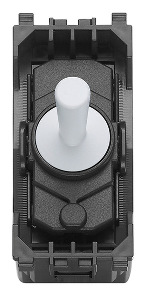 Vimar Eikon 1P NO 10A Push Button Vintage White