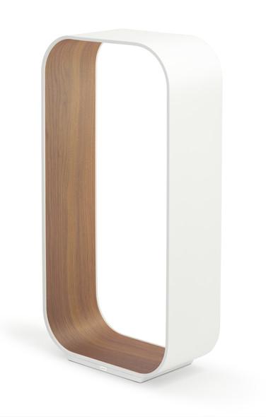 Pablo Table Contour Large White/White Oak
