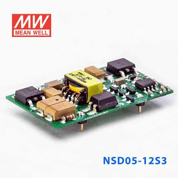 Meanwell NSD05-12S3 DC-DC Converter - 3.96W - 9.2~36V in 3.3V out