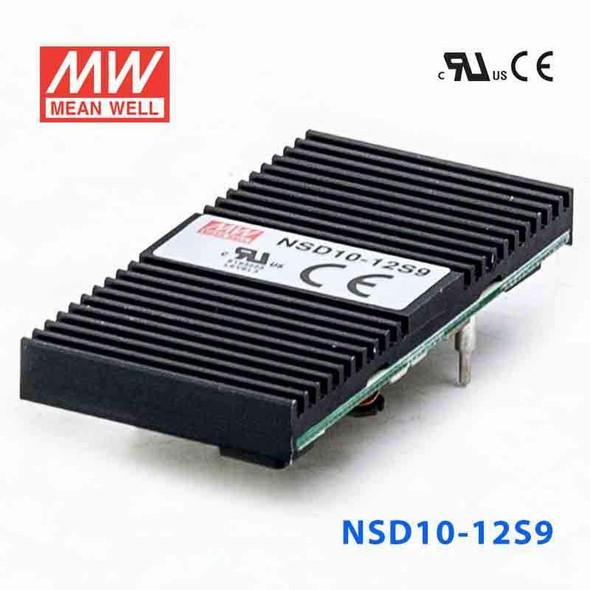 Meanwell NSD10-12S9 DC-DC Converter - 9.9W - 9.8~36V in 9V out