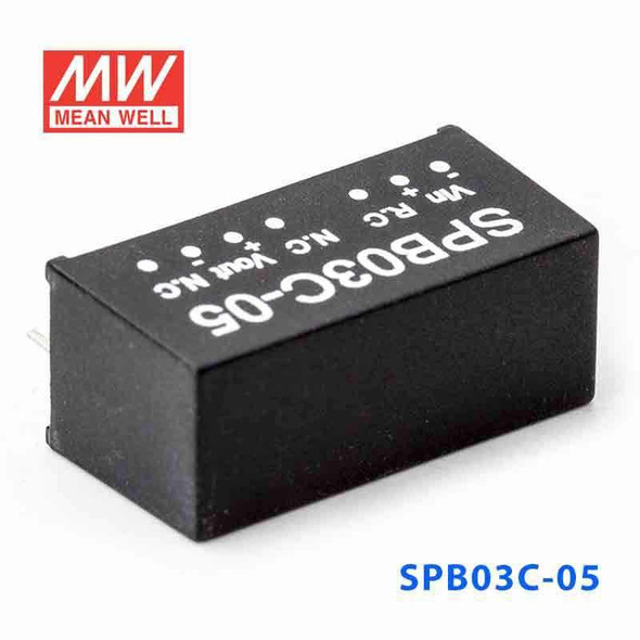 Meanwell SPB03C-05 DC-DC Converter - 3W - 36~72V in 5V out