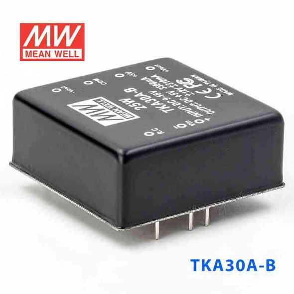 Meanwell TKA30A-B DC-DC Converter - 25W - 9~18V in 5V out
