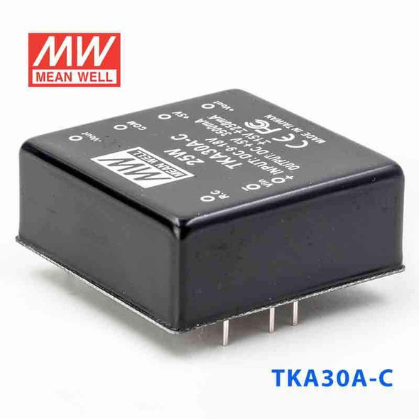 Meanwell TKA30A-C DC-DC Converter - 25W - 9~18V in 5V out