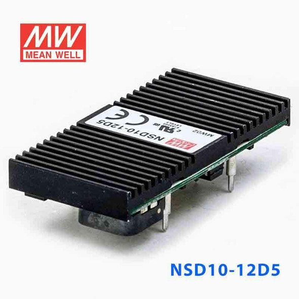Meanwell NSD10-12D5 DC-DC Converter - 10W - 9.8~36V in ±5V out