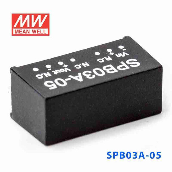 Meanwell SPB03A-05 DC-DC Converter - 3W - 4.5~9V in 5V out