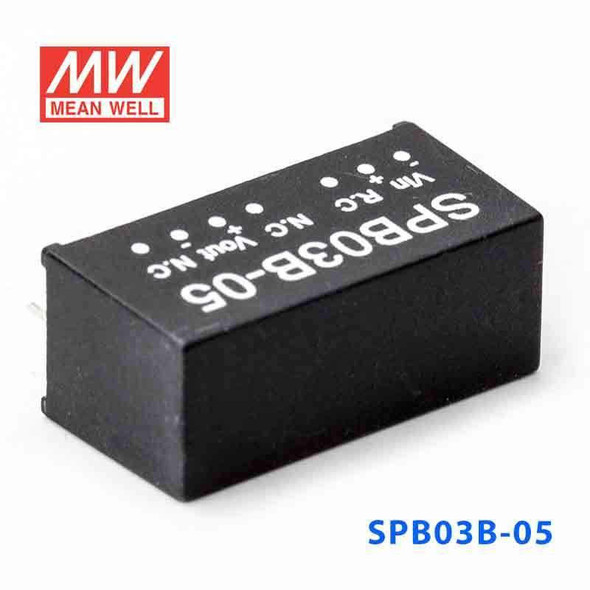 Meanwell SPB03B-05 DC-DC Converter - 3W - 18~36V in 5V out