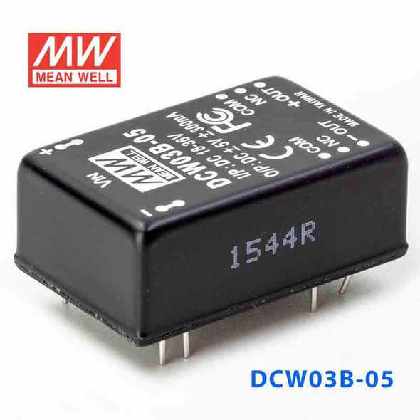 Meanwell DCW03B-05 DC-DC Converter - 3W - 18~36V in ±5V out