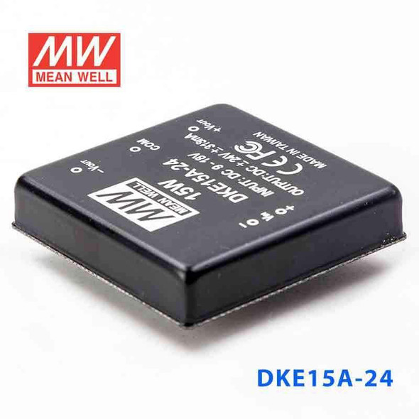 Meanwell DKE15A-24 DC-DC Converter - 15W - 9~18V in ±5V out