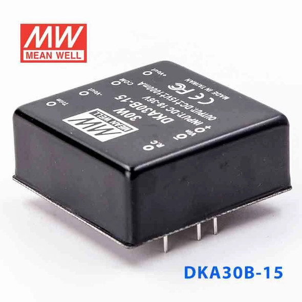 Meanwell DKA30B-15 DC-DC Converter - 30W - 18~36V in ±15V out