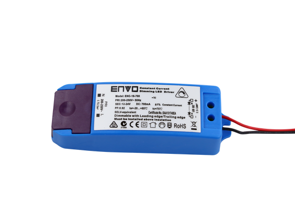 ENVO ENC-12-300 Dimmable LED Driver 7.5W-12W 300mA Constant Current