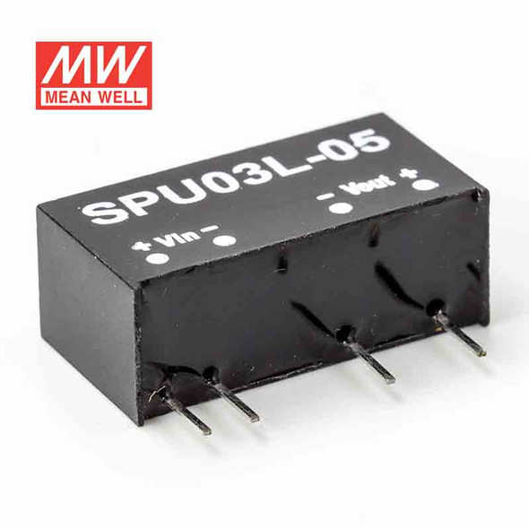 Meanwell SPU03L-05 DC-DC Converter - 3W - 4.5~5.5V in 15V out