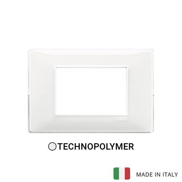 Vimar Plana Plate 3M Technopolymer Reflex Snow