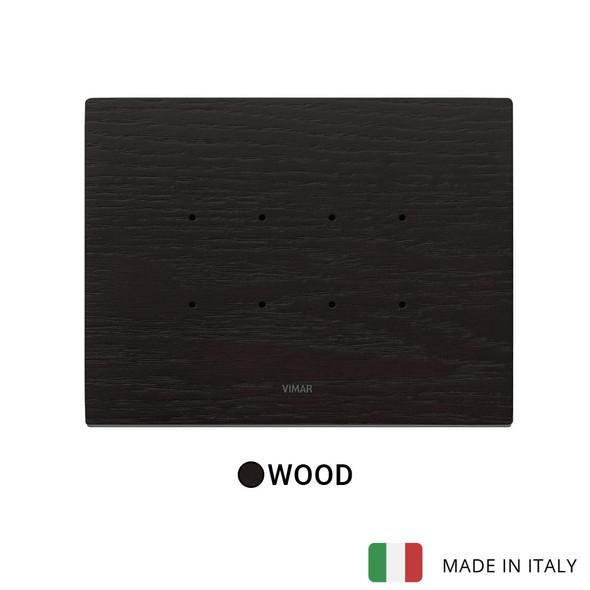 Vimar Eikon Tactil Plate 4M Wood Wenge
