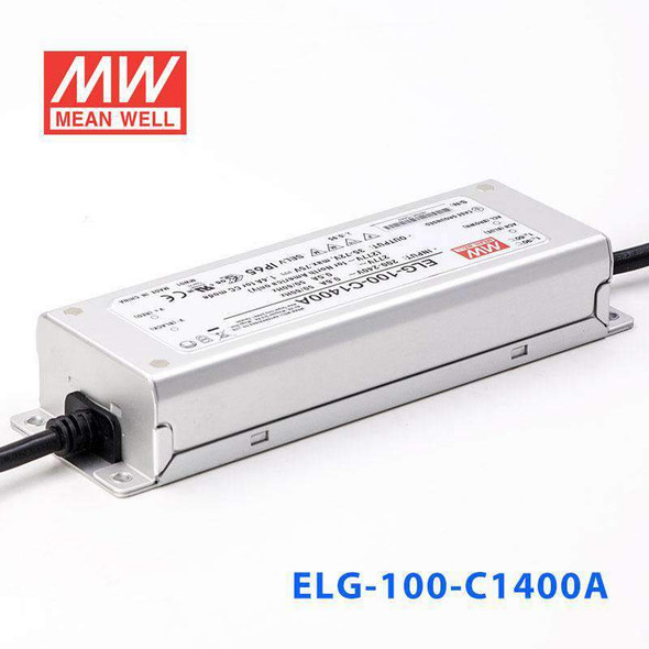 Mean Well ELG-100-C1400A Power Supply 100W 1400mA - Adjustable
