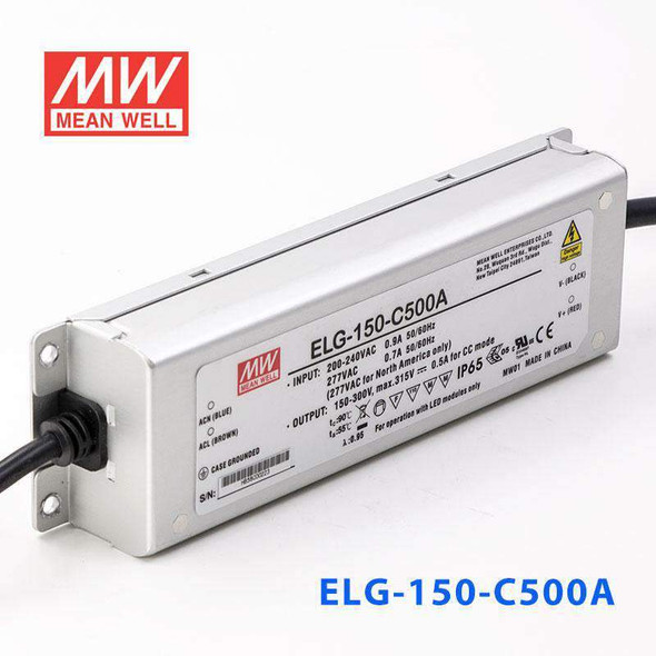 Mean Well ELG-150-C500A Power Supply 150W 500mA - Adjustable