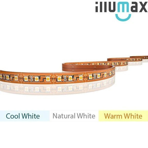 iLLUMAX LED Strip ECO+ Series 120LEDs/m 9.6W/m 24V - Waterproof - 5m Reel