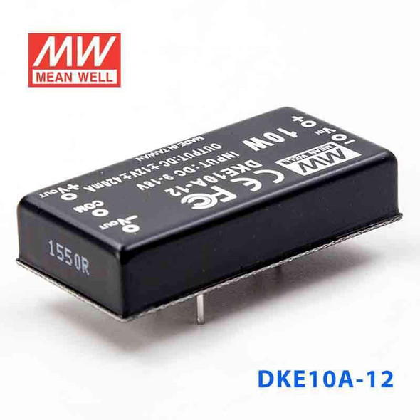 Meanwell DKE10A-12 DC-DC Converter - 10W - 9~18V in ±12V out