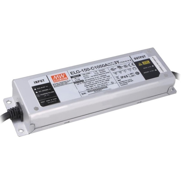 Mean Well ELG-100-C1050A-3Y AC-DC Single output LED Driver (CC) with PFC