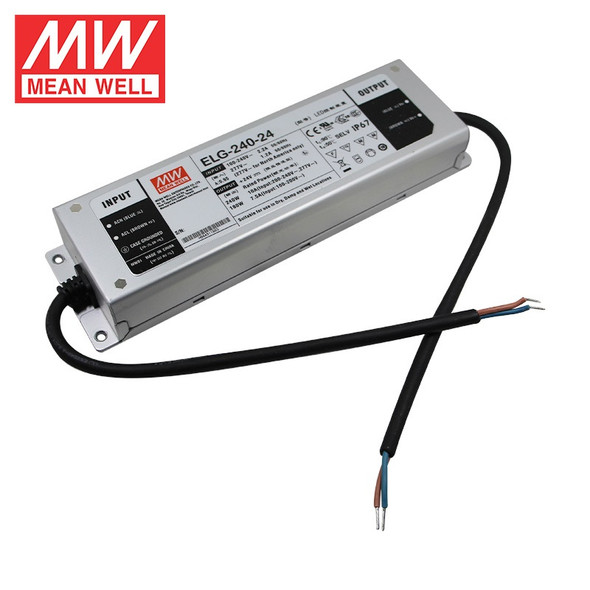 Mean Well ELG-200-24DA-3Y AC-DC Single output LED Driver Mix Mode (CV+CC) with PFC
