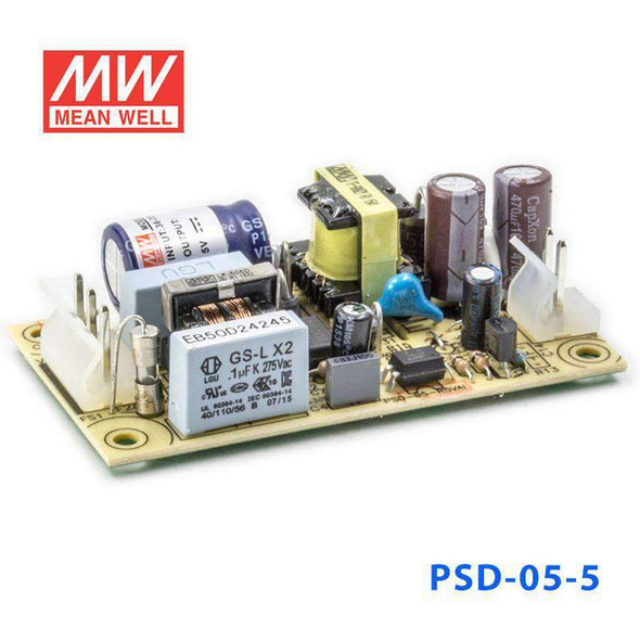 Mean Well PSD-05-5 DC-DC Single output Open frame converter