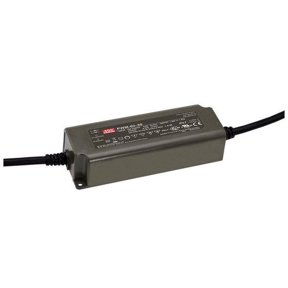 Mean Well PWM-60-12KN AC-DC Single output LED driver Constant Voltage (CV)