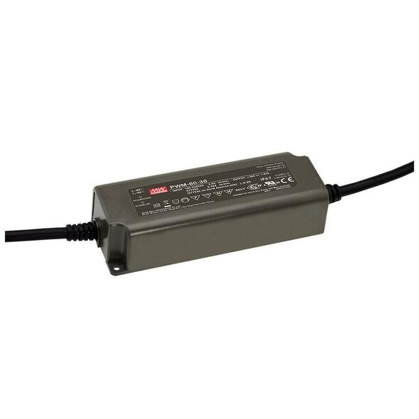 Mean Well PWM-60-24KN AC-DC Single output LED driver Constant Voltage (CV)