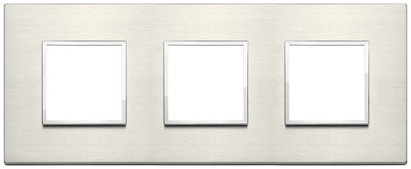 Vimar Eikon Evo Plate 6M (2+2+2) 71MM Aluminium Titanium