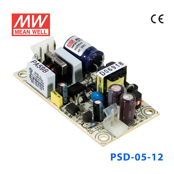 Meanwell PSD-05-12 data incomplete