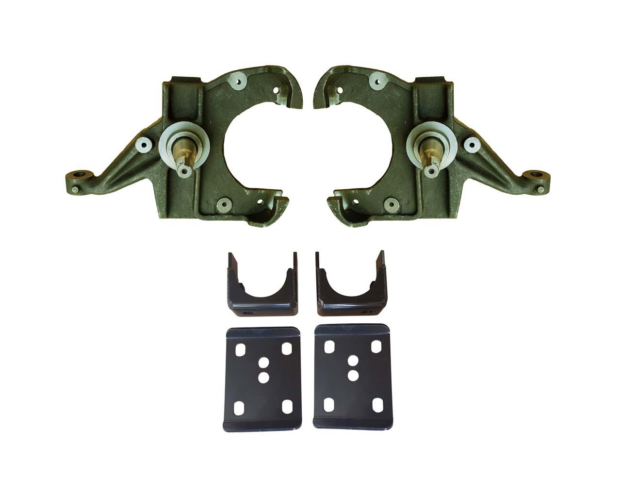 "73 - 87 C10, C15 3""/6"" Spindle Drop Kit (1"" rotors)"