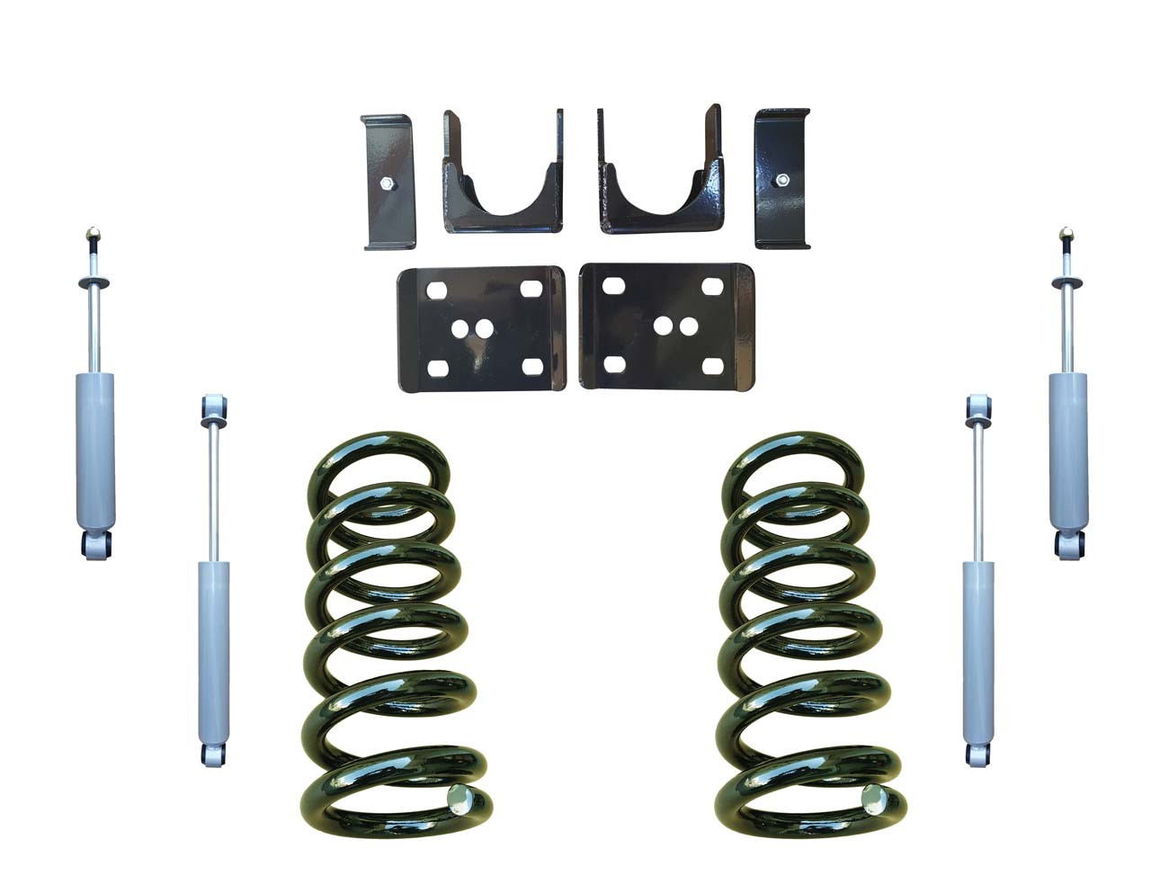 3/6 Lowering Coil Drop Kit and Drop Shocks for Chevrolet GMC C1500