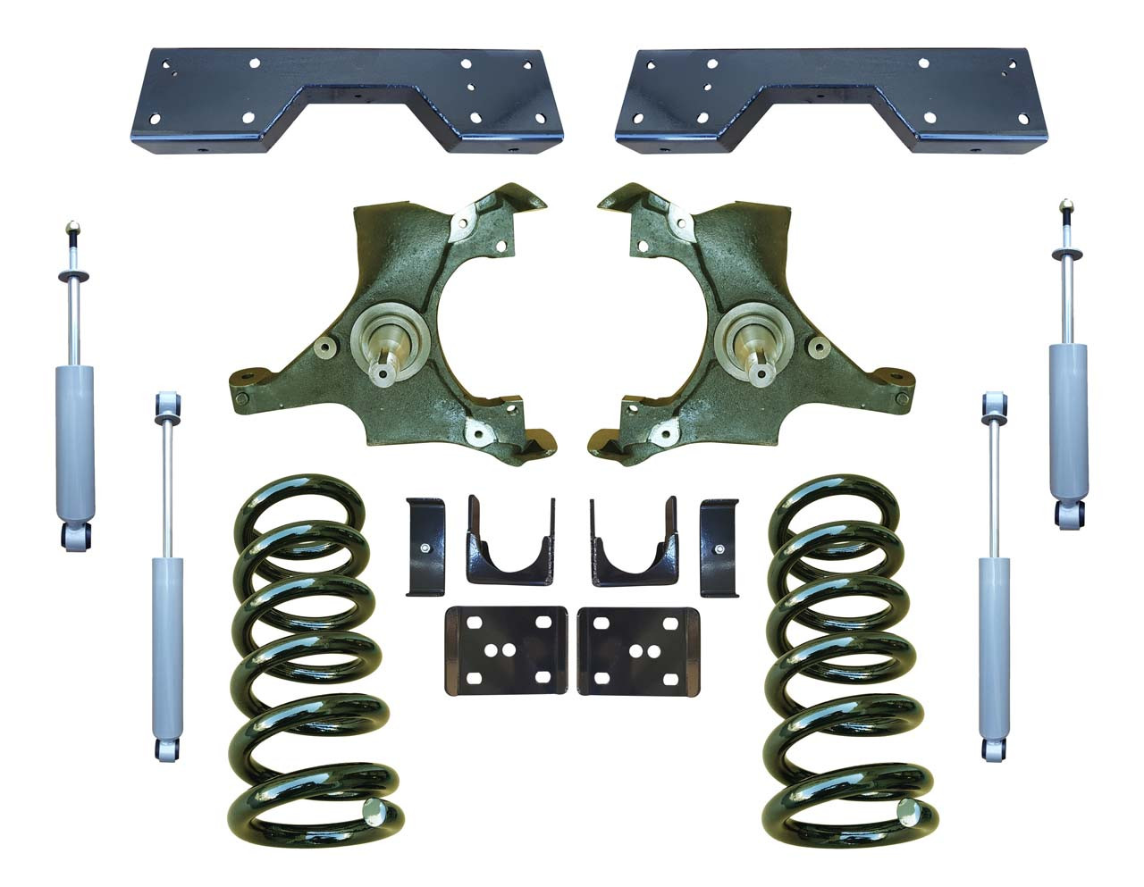 Complete 4/6 Drop Spindle Lowering Kit for Chevrolet GMC C1500