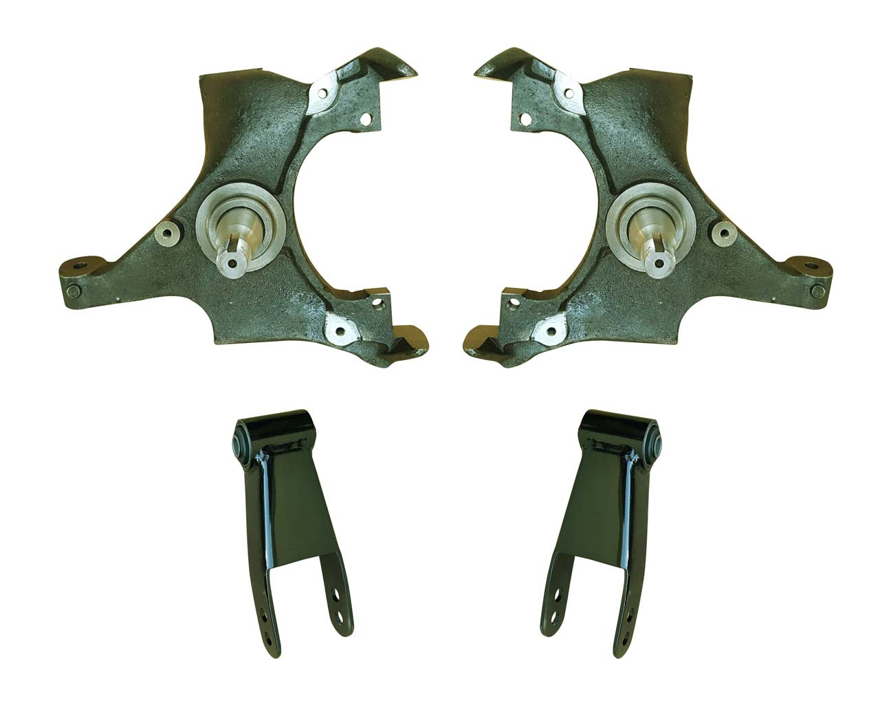2in Drop Spindle Lowering Kit for 88-91 C1500 Std Cab