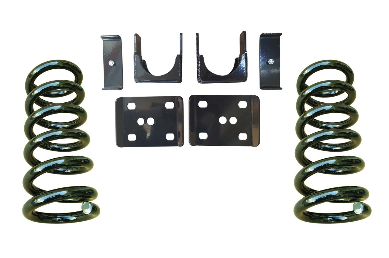 3/6 Lowering Coil Drop Kit for 88-91 C1500 Std Cab