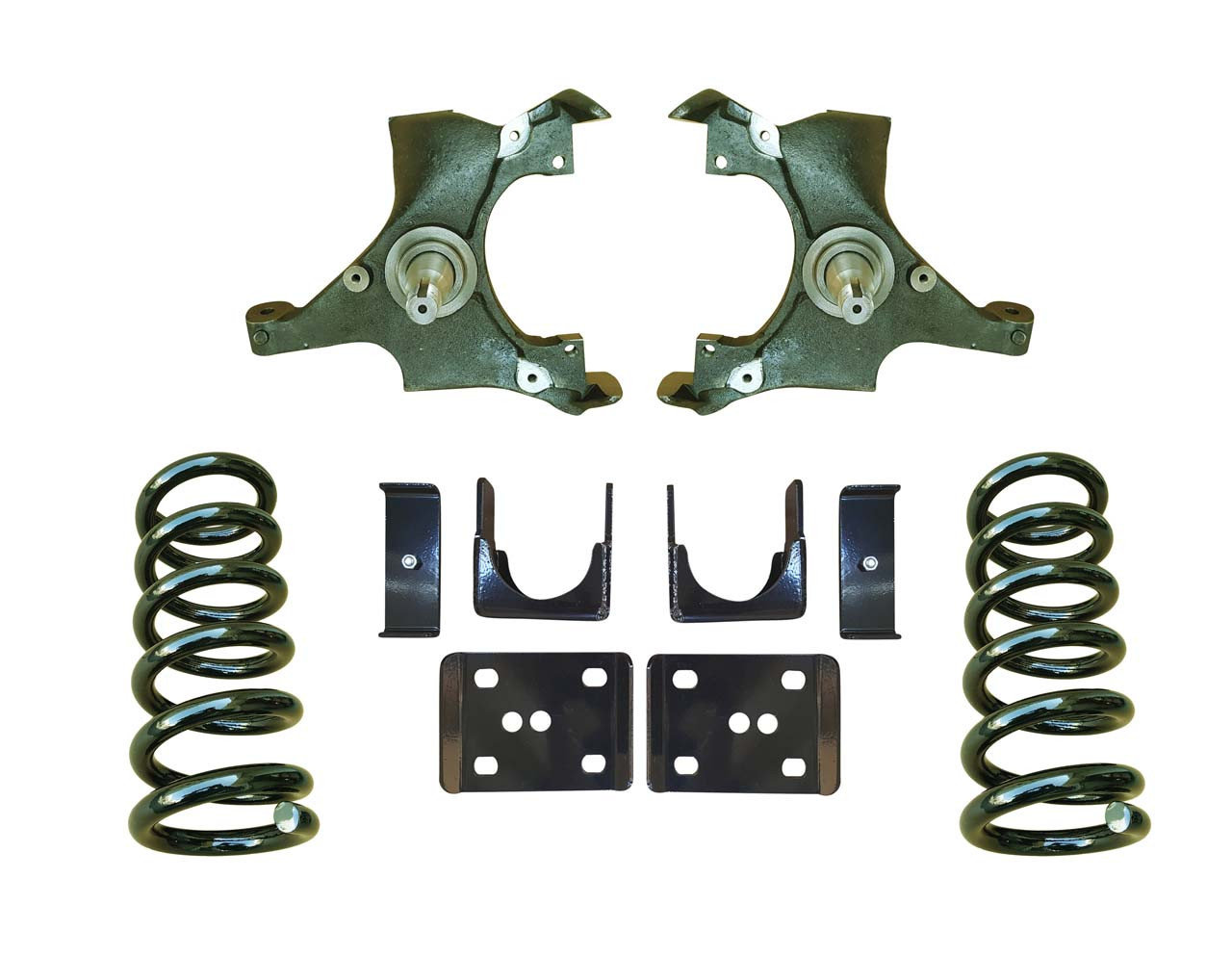 4/6 Drop Spindle Lowering Kit for 88-91 C1500 Std Cab